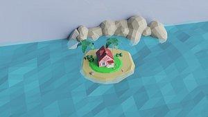 Dragon Ball Kamehouse 3D model