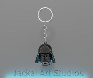Star Wars - Darth Vader - key chain 3D