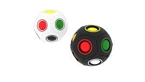 Color Shift Puzzle Balls 3D model
