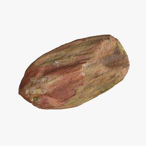 3D Pistachio Nut Kernel 1