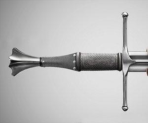 3D aaa sword vr type model