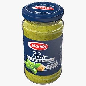 3D Barilla Genovese Pesto Sauce 190 ml