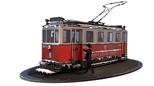 3D The tram model