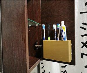 3D porta spazzolini denti