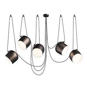 3D 727253 Omega Lightstar chandelier hanging