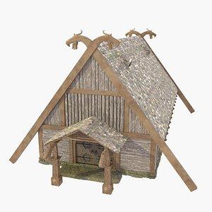 house viking chief 3D model