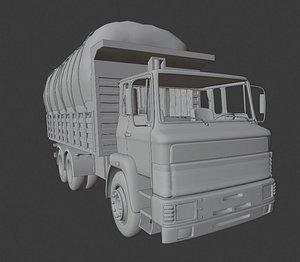 3D bmc truck