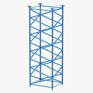 3D crane f intermediate section
