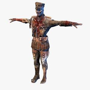 general rigged 3D model