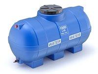 Pill Form Plastic Water Storage Tank
