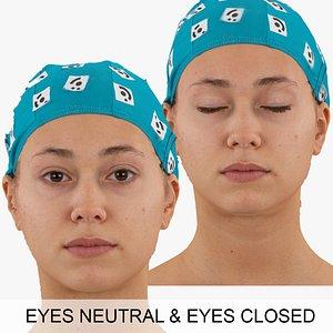 3D eyes raw scan