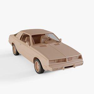 3D 1978 Dodge Challenger model