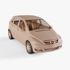 2010 Mercedes-Benz B-Class 3D