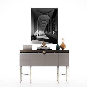 cabinetfurniture pedestal 3D