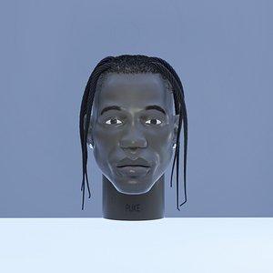 Travis SCOTT Head model