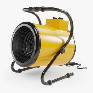 Electric Industrial Space Heater Workshop Warmer Air Heater 3D