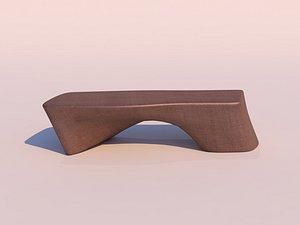 3D sculpture wooden model