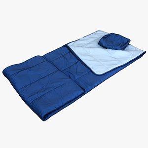 3D model Clothes 251 Sleeping Bag