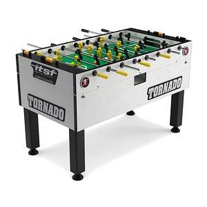3D Tornado T3000 Foosball table