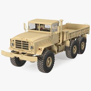 3D M939 Military Cargo Truck Light model