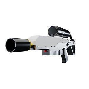 3D Flamethrower model