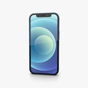 3D Apple iPhone 13 mini Blue