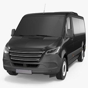 3D model Executive Van Exterior Only