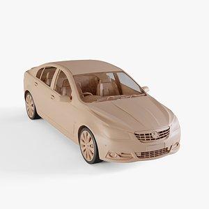 3D model 2013 Holden Calais VF