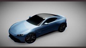 aston-martin-v12-vantage 3D