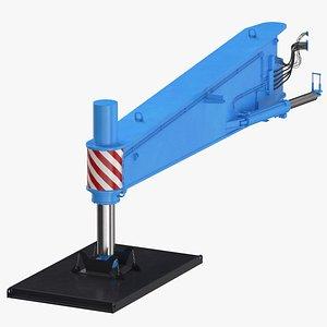 3D crane outrigger large 03