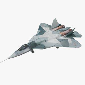 Su-57 3D model