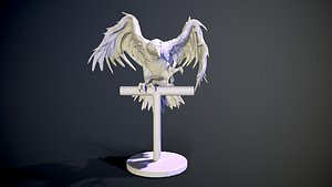 CROW FOR 3DPRINT model