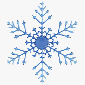 3D Snow Flake 3