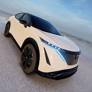 3D 2021 Nissan Ariya model 3D model