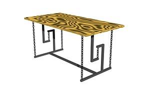 3D model Balance table