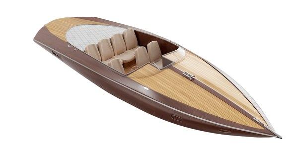 3D Speed boat BLENDER 3D Model Cycles model