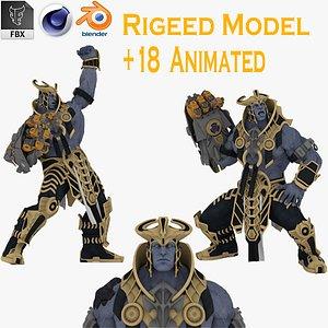 3D model 3D Thanos  model