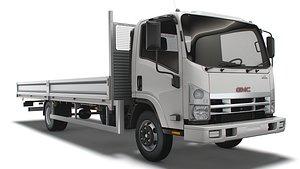 3D GMC W3500 Rigid body truck 2021