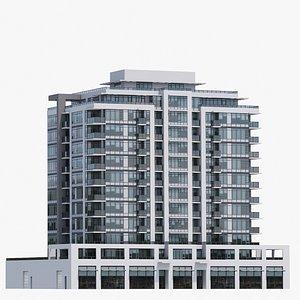 Vancouver Apartments V9 3D model