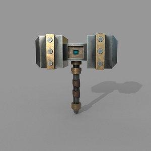 3D nordic hammer