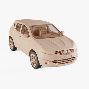 2010 Nissan Qashqai 3D