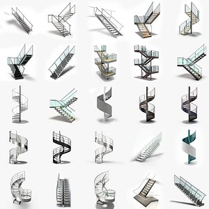3D Stairs Collection 05