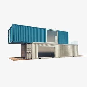 house containers 3D model