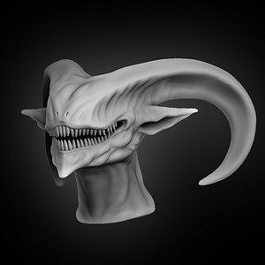 3D demon devil