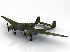3D Focke-Wulf Fw 189 Uhu