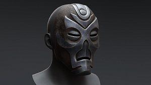 Skyrim Dragon Priest Mask - Nahkriin 3D model