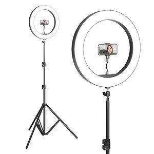 3D model tripod lamp selfies