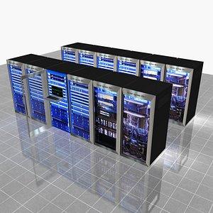3D internet server