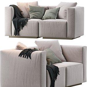 sofa modular 3D model