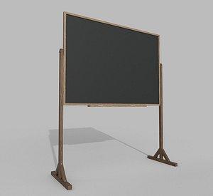3D model Blackboard